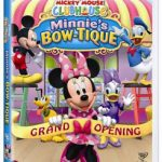CLOSED: Mickey Mouse Clubhouse: Minnie's Bow-tique dvd ( + Giveaway)