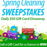 """Plastic Jungle Spring Cleaning Sweepstakes """"Daily $50 Gift Card Giveaway"""""""