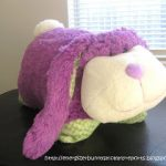 Fluffy Bunny hops by. ( A Pillow Pets Giveaway)