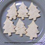 3 Ingredient Christmas Shortbread Cookies