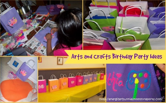 a special 6 year old 39 s arts and crafts birthday party
