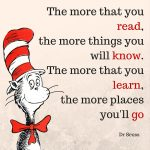 Download your free printable Cat in the Hat bookmark.