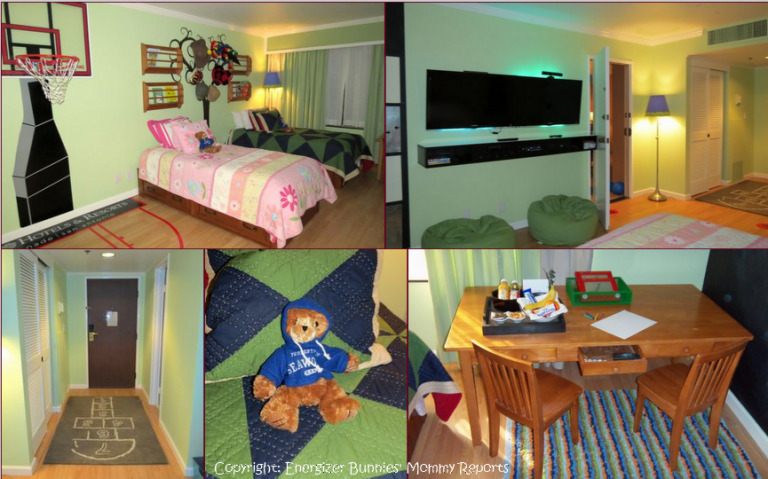 Omni Colonnade's Kids Suites…the hotel room your kids will never leave!