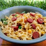 Chinese Noodles Medley { Meal Maker Challenge: Week 2: Hebrew National Franks!}