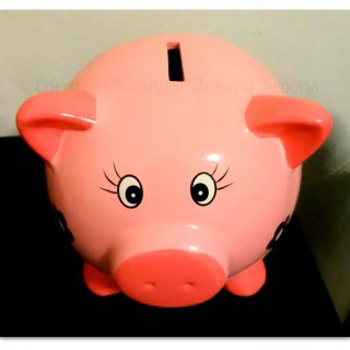 Lessons with the Piggy Bank {Teaching My Child About Money!}