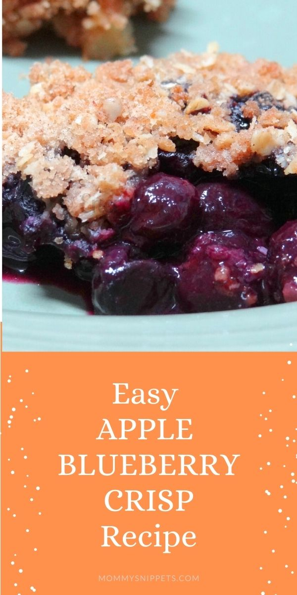 apple blueberry crisp recipe