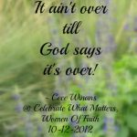 Inspirational & Thought-Provoking Nuggets from Celebrate What Matters 2012 {Pin-friendly!}