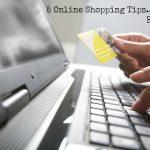 5 online shopping tips… Be ALERT!
