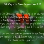 30 Ways To Give – Love for our Troops {#30DayGive}