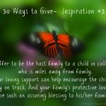 30 Ways To Give – Be a Host Family {#30DayGive}