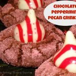 Chocolate Peppermint Pecan Crinkles {Delicious Christmas Cookies!}
