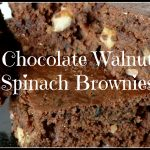 Ring in the New Year with my Chocolate Walnut Spinach Brownies Recipe!