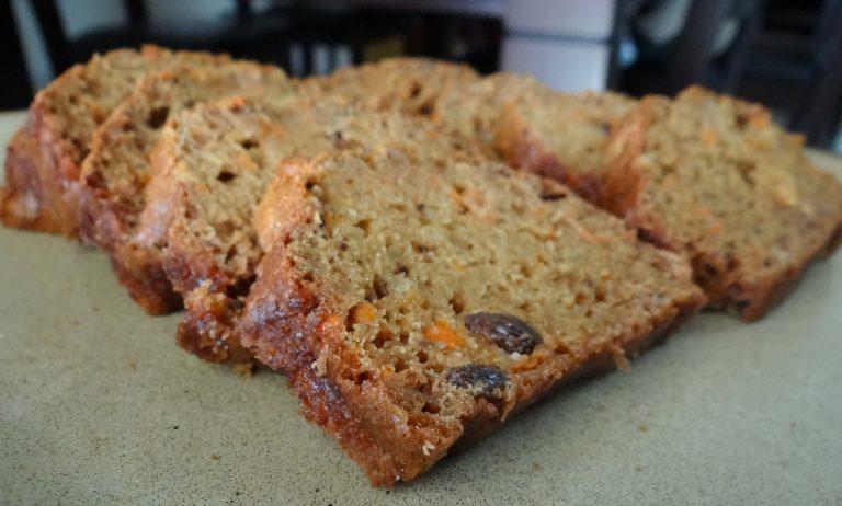 Healthy Holiday Medley Bread {A Christmas Breakfast /Snack Recipe!}