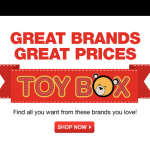 Kohl's Year End Sale for Toys has begun!