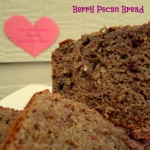 Berry Pecan Bread…the perfect Valentine's Day bread for breakfast! {Recipe}