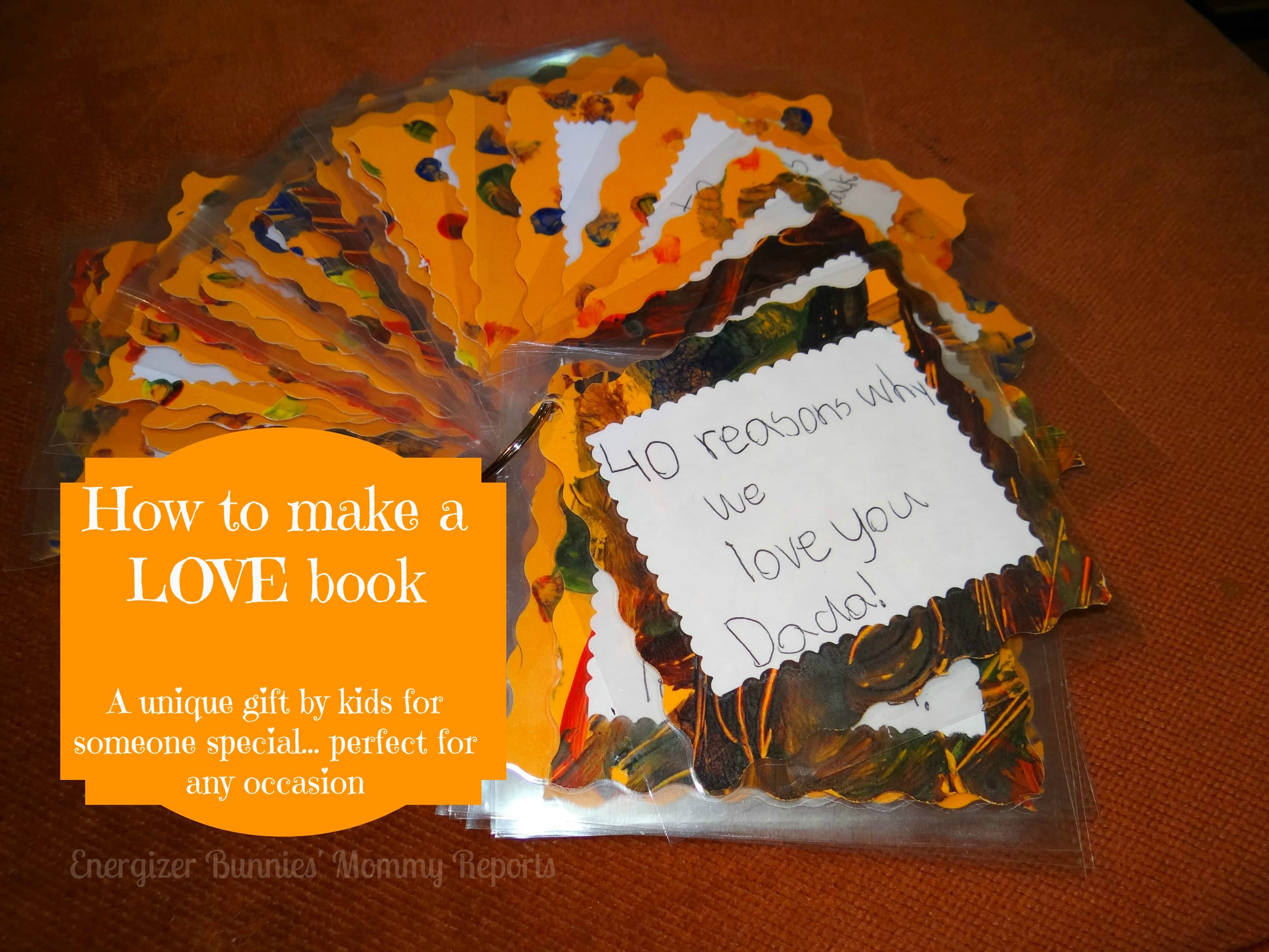 How To Make A LOVE Book