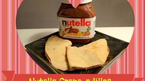 Celebrating With Nutella Crepe Adillas