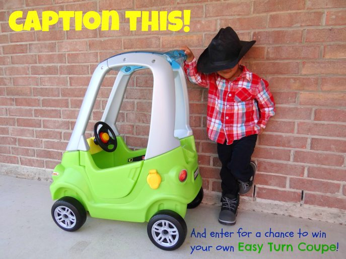 #Win a @Step2 Easy Turn Coupe on Energizer Bunnies' Mommy Reports. #Giveaway ends 3-31-2013