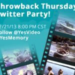 Throwback Thursday Twitter Party with YesVideo…TODAY!! (2/21- 8pm CST!)