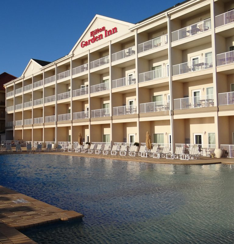 The affordable beach-side hotel on South Padre Island- The Hilton Garden Inn!
