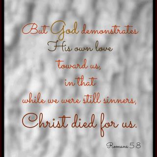Romans 5:8 verse (NKJV)