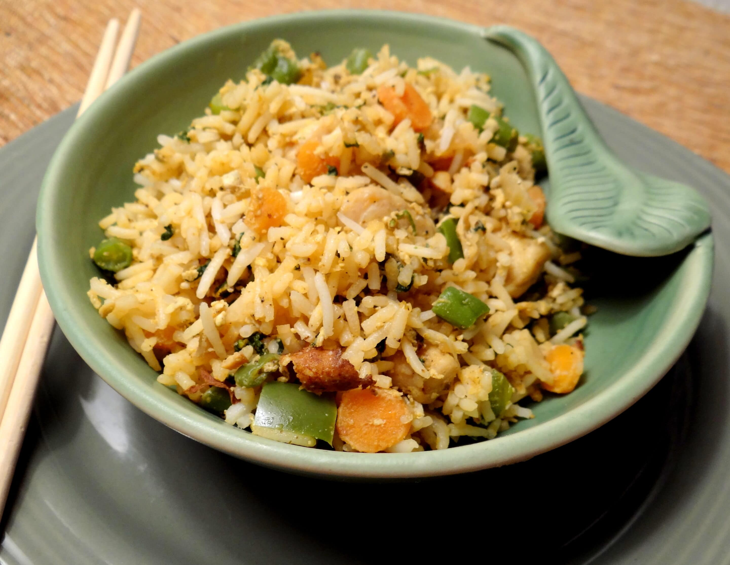 Mixed fried rice minus any soy sauce mommy snippets ccuart Images