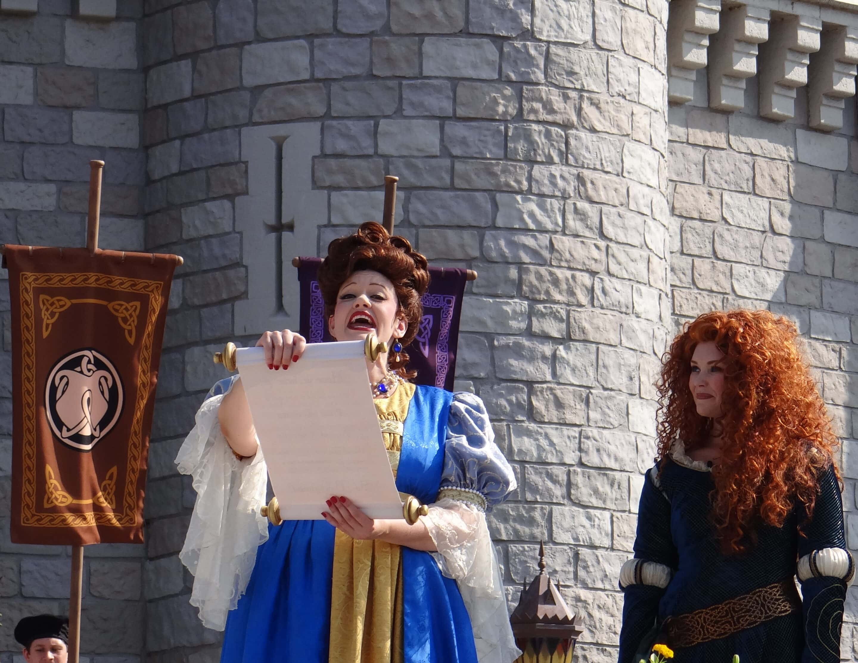 Crowning Princess Merida at Walt Disney World. Photo Copyright- Energizer Bunnies' Mommy Reports (31)