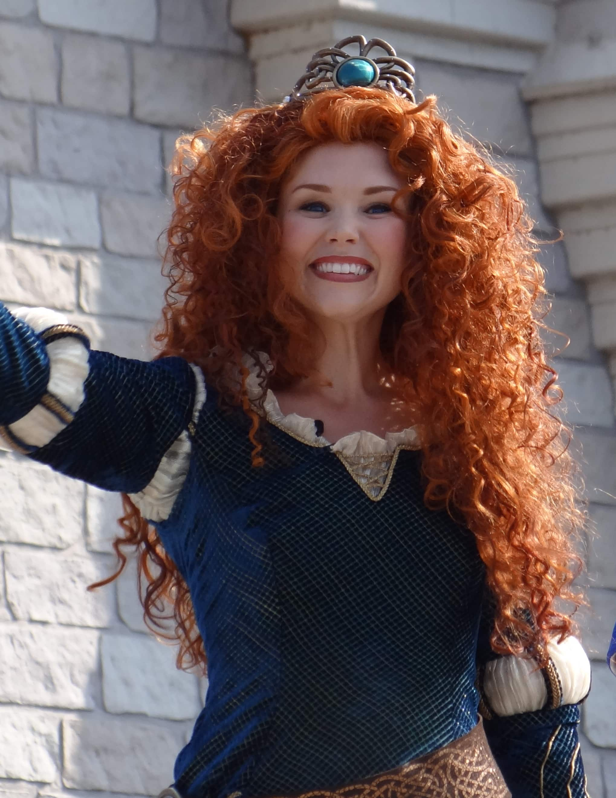 Crowning Princess Merida at Walt Disney World. Photo Copyright- Energizer Bunnies' Mommy Reports (39)
