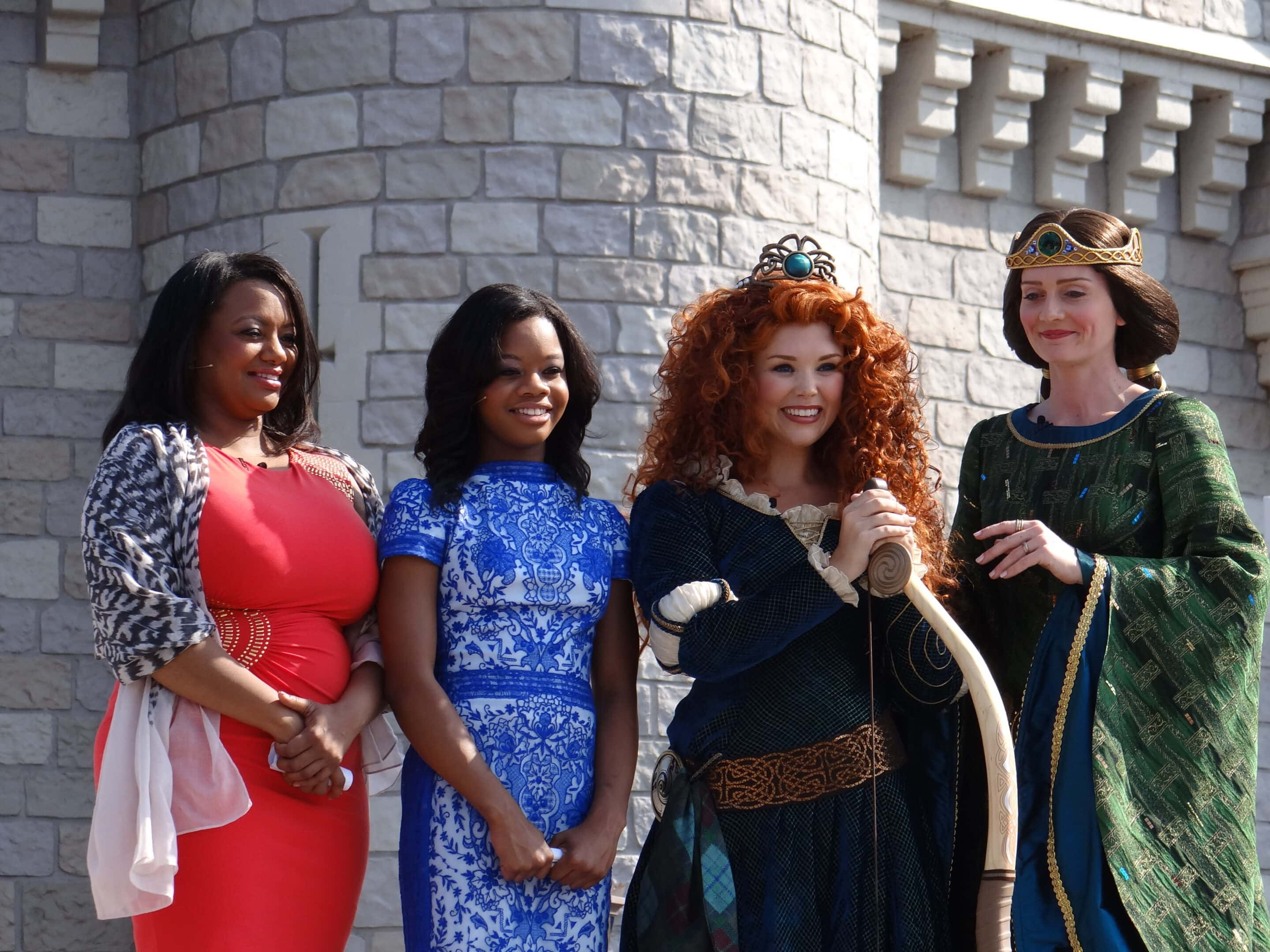 Crowning Princess Merida at Walt Disney World. Photo Copyright- Energizer Bunnies' Mommy Reports (49)