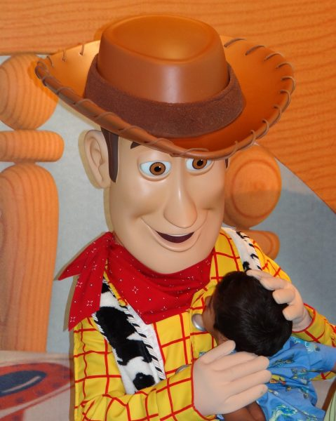 Woody, Toy Story-For Infinity and Beyond