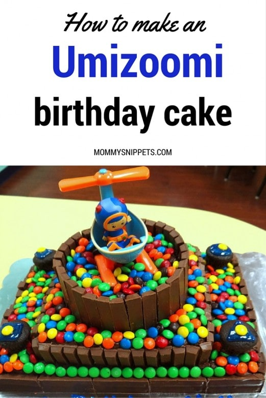 How To Make An Umizoomi Birthday Cake