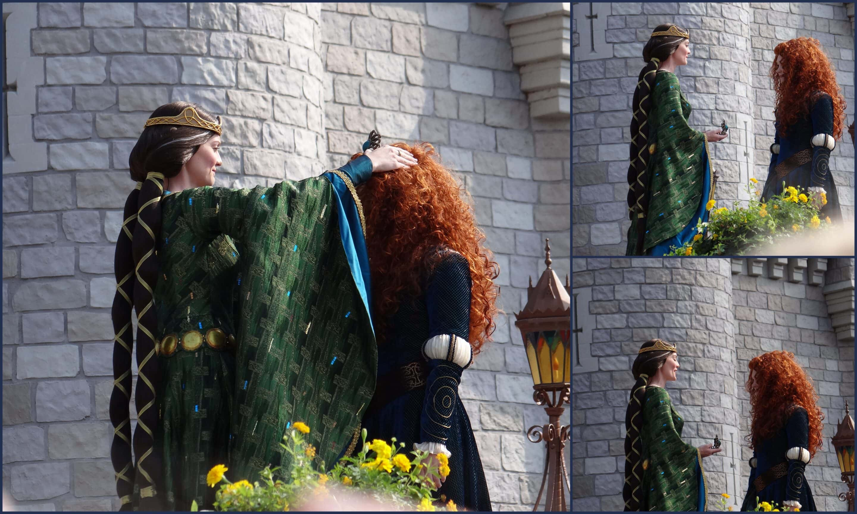 Crowning Princess Merida at Walt Disney World. Photo Copyright- Energizer Bunnies' Mommy Reports