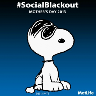 Celebrate Mother's Day with a #SocialBlackOut this year!