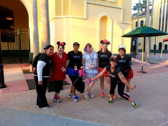 runDisney 2 mile Fun Run at Disney Social Media Moms Conference