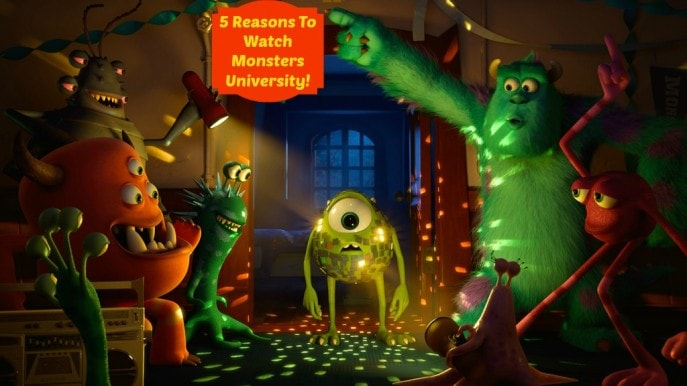 5 Reasons To Watch Monsters University!- Mommy Snippets , Disney