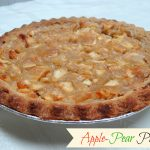 The easy way to make an Apple-Pear Pie.