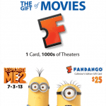 "Fandango's NEW Collector's Edition ""Despicable Me 2"" Gift Cards! (+ Win TWO 25$ Gift Cards Here!)"