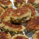 Spinach and Kale Tuna Cakes in my new Twizzt Pan (+Giveaway)