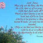 A 4th of July Prayer