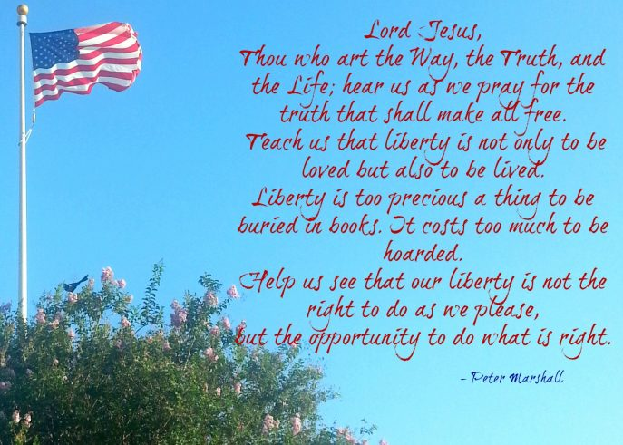 4th of July prayer