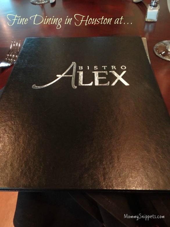 Fine Dining in Houston at Bistro Alex