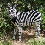 Almost Wordless Wednesday: LEGO safari at the Houston Zoo