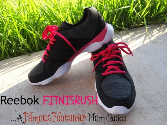 Reebok FITNISRUSH...A Famous Footwear Mom Choice