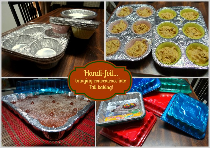 Handi-foil...bringing convenience into Fall baking