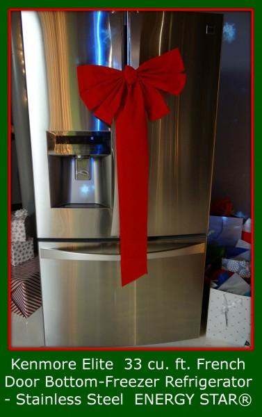 Kenmore Elite  33 cu. ft. French Door Bottom-Freezer Refrigerator - Stainless Steel  ENERGY STAR®