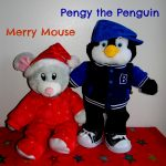 Merry Mouse, Pengy the Penguin, Build-A-Bear