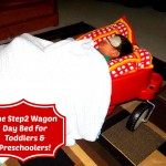 Step2 Wagon Day Bed for Toddlers & Preschoolers