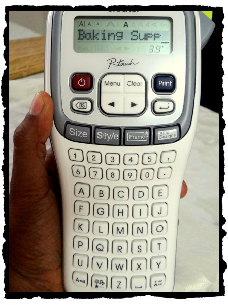 Brother P-touch label maker-