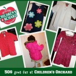 Children's Orchard makes shopping on a budget easy.