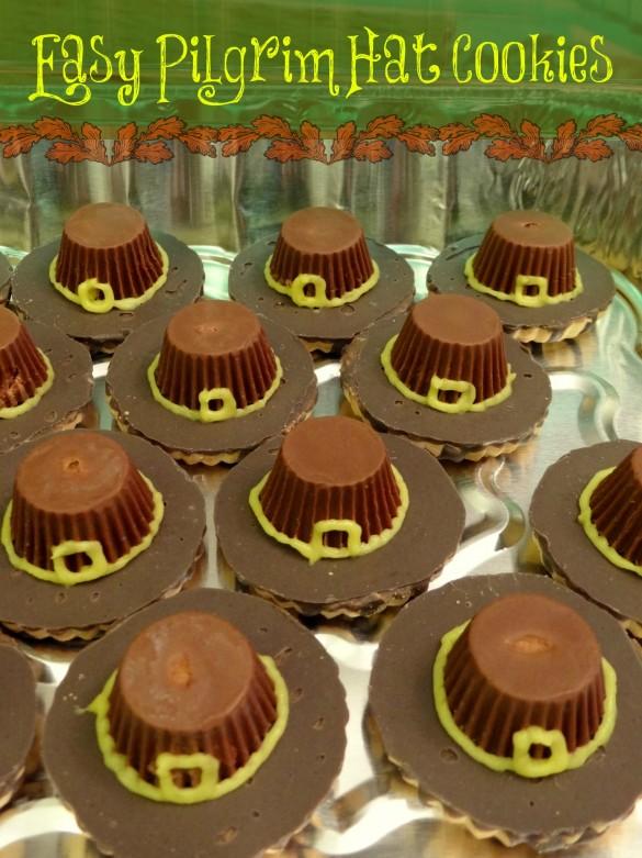 Easy Pilgrim Hat Cookies